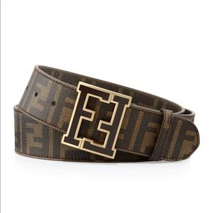 Fendi College Belt